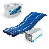 Mobiclinic, Mobi 2, Materasso antidecubito, Celle ad aria alternata e compressore, Blu