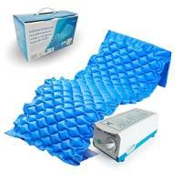 Mobiclinic, Mobi1, Materasso antidecubito, Materassi antidecubito a pressione alternata e compressore, Azzurro