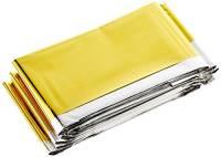 Salewa Rescue Blanket Telo di Sopravvivenza in Alluminio, Unisex adulto, Oro (Gold/Silver), Taglia Unica