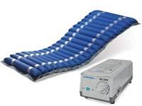 Kit antidecubito AnteaMED con materasso ad elementi intercambiabili e compressore con regolazione